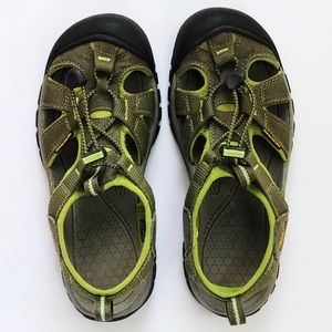 Keen Women's Venice H2, Size 7.5, Burnt Olive/Lime